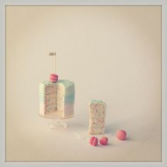 1:12 scale  Miniature 5 layer cake by 2smartminiatures