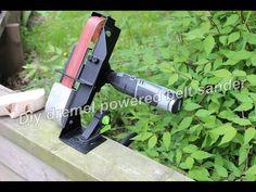 Fashion a Mini Belt Sander Attachment for Your Dremel