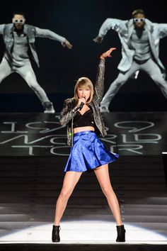 All of Taylor Swift's Best 1989 Tour Outfits So Far!