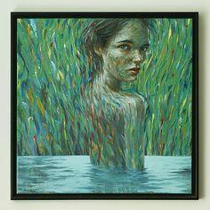 jaPacmaga / vodná víla, maľba