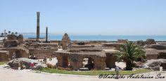 Roman ruins in Carthage, Tunis