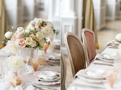 Aisle Candy Editorial in New York - KT Merry Photography Wedding Arrangements, Floral Arrangements, Pastel Colour Palette, Color Palettes, Wedding Decorations, Table Decorations, Wedding Story, Event Styling, Destination Wedding Photographer
