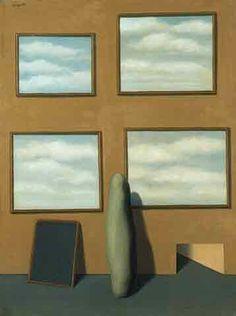 The Secret Life III, Rene Magritte