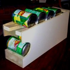 Can Food Organizer For Our Pantry