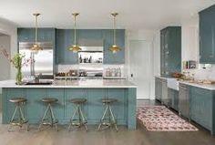 「ブルーグレー キッチン」の画像検索結果