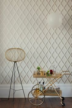 Image courtesy of Cole & Son - neutral wall covering