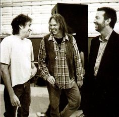 Dylan, Young and Clapton