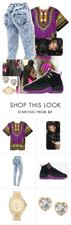 """""""PYT✨"""" by wesal2lit101 ❤ liked on Polyvore featuring NIKE and Michael Kors"""