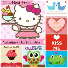 Get the best free printable Valentines Day Cards available online. A huge list all in one place. Pin now, print later.