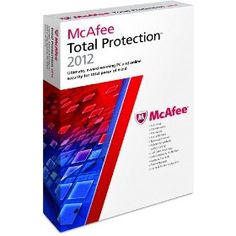 McAfee Total Protection 2012--3 Users, ACT FAST - Amazon Lightning Deal 2/15/12 from 10AM PST until 2PM PST or until maximum quantity sold, (List price $79.99) Deal price: $15.99 (80% off).