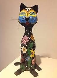 Resultado de imagem para papel mache esculturas