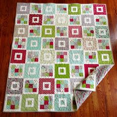 Shortcake quilt-Hollys tree farm