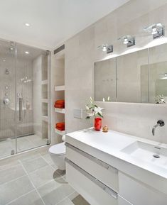 Modern Contemporary Bathroom Design Ideas 92