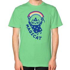 MAGICAT Unisex T-Shirt (on man)