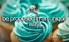 Get proposed to in a unique way