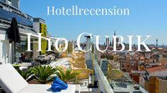 H10 Cubik, ett fantastiskt hotell mitt i Barcelona.