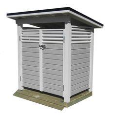Roskakatos Driveway Entrance, Outdoor Furniture, Outdoor Decor, Woodworking, Backyard, Outdoor Structures, Garden Sheds, Villa, Diy