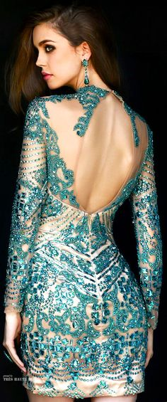 Sherri Hill Fall 2014 ♔ More dresses added daily @ https://www.pinterest.com/tanja62287/couture-dresses/