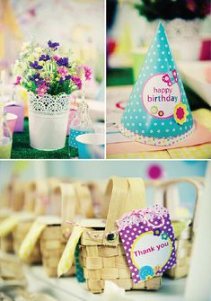 INSTANT garden party first birthday girl 1st birthday by youmakedo