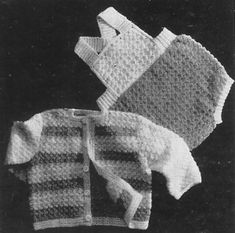 Alice Fowler Knitting and Crochet Baby Patterns 1200 to 1229