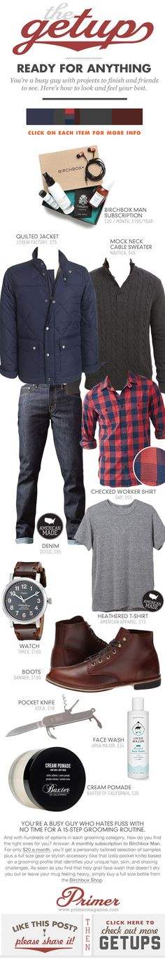 The Getup: Ready for Anything - Primer