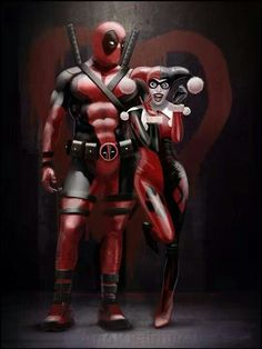 I'm seriously loving all the Deadpool x Harley Quinn fanfiction. I'd never thought they'd be such a OTP!