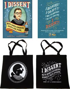 I Dissent: Ruth Bader Ginsburg Makes Her Mark Giveaway