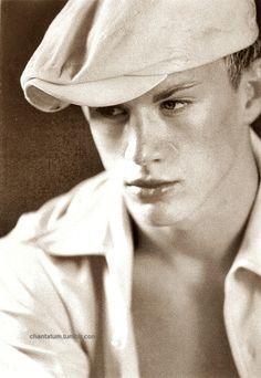 Channing Tatum | Old School Modeling Pic