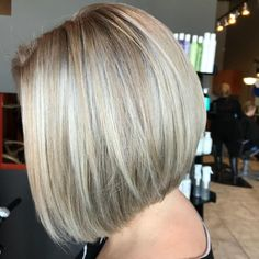Cool Blonde Bob #hairstyles #shorthair #blonde Ash Blonde Short Hair, Cool Blonde, Blonde Bobs, Short Balayage, Balayage Hair, Cut And Style, Cut And Color, Platinum Bob, Short Sassy Haircuts