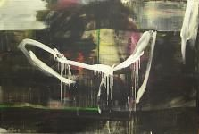 Franco Kappl - Pony Wing 2007, 200 x 300 cm Acryl/Öl/Leinwand