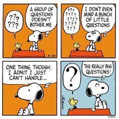 Bildergebnis für snoopy questionmarks