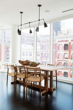 Tour a New York Bachelor Pad That's Far From Cliché via @mydomaine