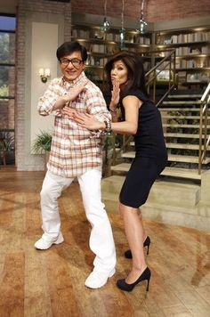 Chan & Chen - A duo you don't wanna mess with! @EyeOfJackieChan @Julie Forrest Chen #thetalk #chinesezodiac