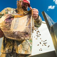 Blue skies and Big Game Blend. It's gonna be a good day. Pick up a bag at your local dealer or shop online with the link in bio. ------------------------------------------ #Traeger #TraegerGrills #TraegerOutdoors #GrillOffGrid #BigGame #Hardwood #WildGame