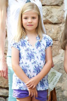 Spanish Royals | August 5, 2013. Mallorca-Infanta Sofia