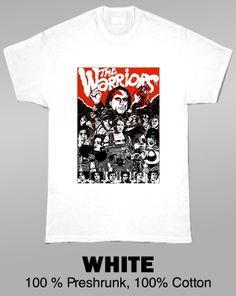 The Warriors Movie T Shirt Warrior Movie, Movie Shirts, Warriors, Mens Tops, Movies, T Shirt, Products, Fashion, Supreme T Shirt