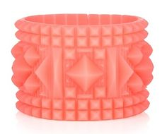 A pretty pink Juicy bangle that hides a thumb drive. #geek