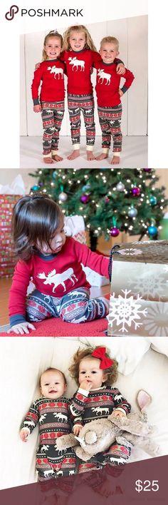 Kid size Family Christmas Pajamas PJ set     BUY MULTIPLE SET WILL RECEIVE  INSIDE 44c902b69