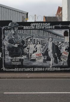 Propaganda. West Belfast. 2013. Northern Ireland.