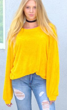 vintage mens womens bright canary yellow Pierre Cardin oversized ...