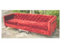 70 s Mid Century Modern Milo Baughman Design Floating Sofa 91.5 L Thayer Goggin | eBay