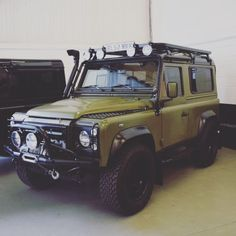 If your head says yes, your heart definitely says yes! - #TwistedDefender #TD5 #Premium #Defender #Detailing #Handcrafted #LandRover #LandRoverDefender #Handmade #Modified #InsideAndOut #Style #4x4 #Lifestyle #Green #DefenderRedefined