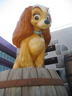 A beautiful Lady at Pop Century Resort 2008. STAYED AT THIS HOTEL