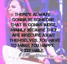 Lzzy Hale quote