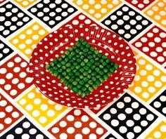 Peas on a Plate, © 1978 Sandy Skoglund