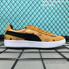 d19fef02b1f The 50th Anniversary Of The 110 Puma Suede X MCM Collaboration Publishing  FULL GRAIN LEATHER Graffiti Low Sneakers 01 Zhly1 Size 35.5 44 18-07-28  Best, ...
