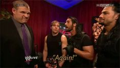 I love this gif of The Shield (well the former of The Shield members) I miss them like crazy like this!