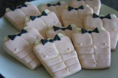 Chippendales Chest Bachelorette Cookies Decorated Cookies Favors One Dozen on Etsy, $32.00