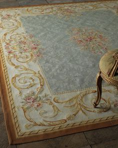 """""""Pastery Lattice"""" Rug by French Market Collection at Neiman Marcus."""