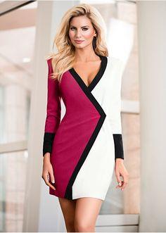 La robe rouge/bleu/écru - Femme - bonprix.fr Je la trouve très belle